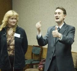 На тренинге по ораторскому искусству Киев