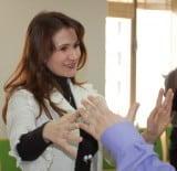Отработка жестов. Тренер Бойко Мария.
