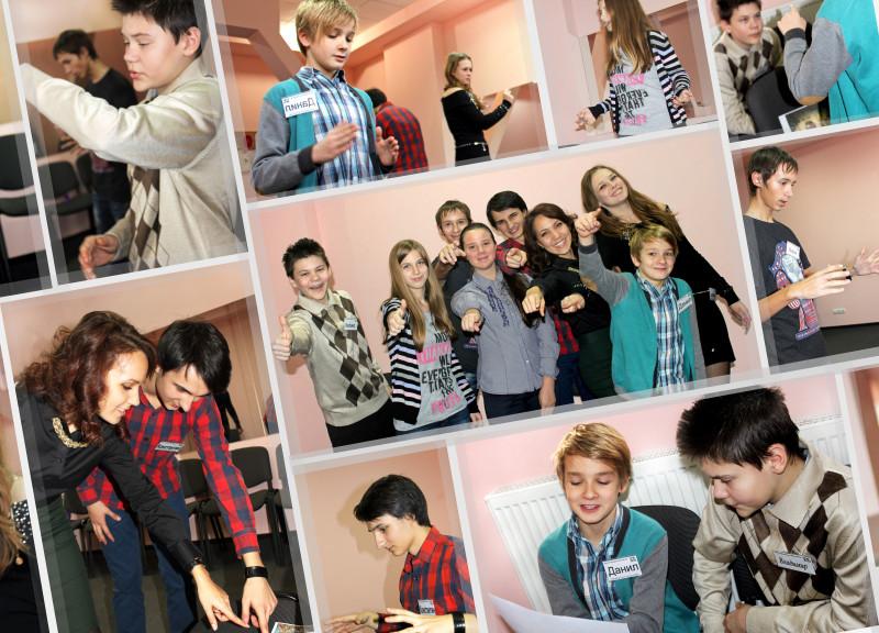 Фотография с тренинга ораторского искусства для школьников. Детские группы риторики в Днепропетровске