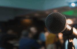Какие ошибки при выступлении с микрофоном