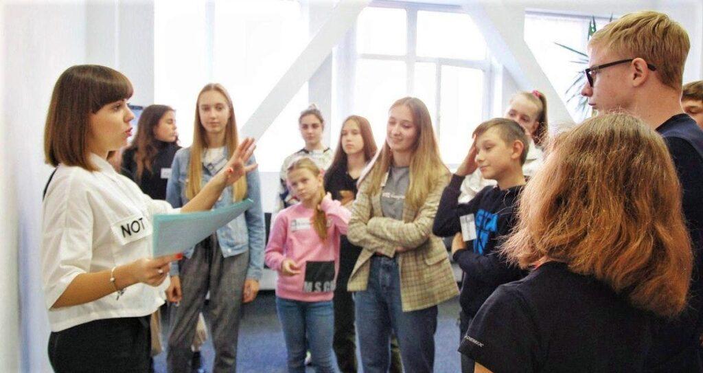 Обучение ораторскому искусству для детей от 10 до 16 лет Днепр
