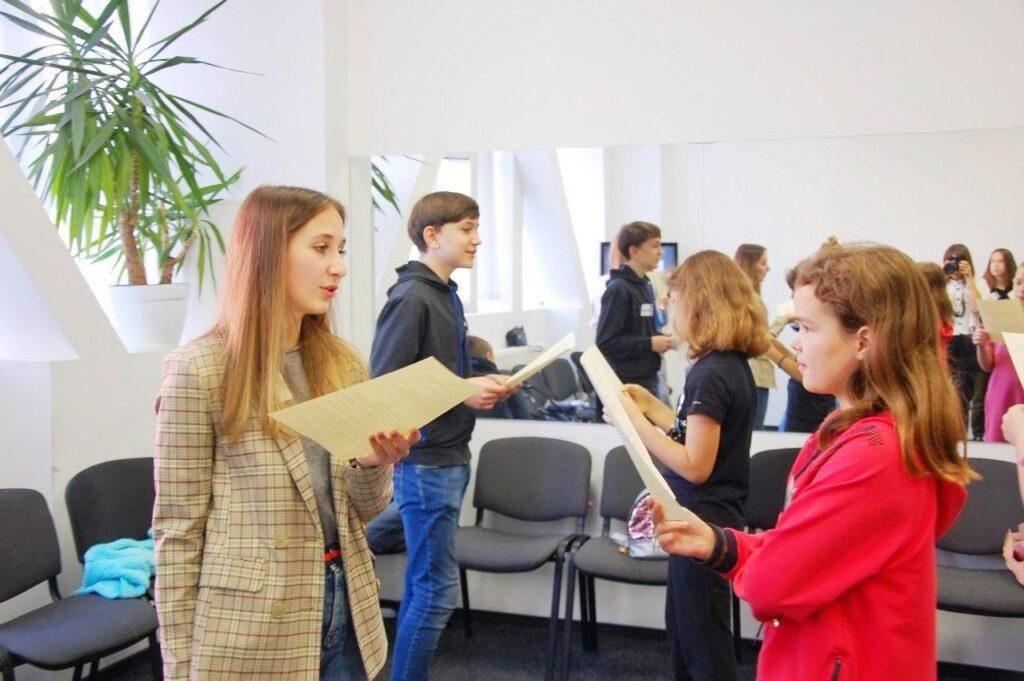 Детские курсы Днепр ораторского искусства риторика