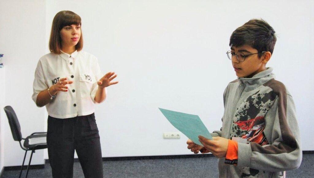 Обучение детей ораторскому искусству Днепр